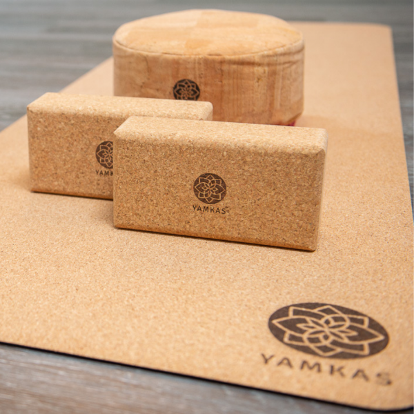 Yamkas yoga block cork