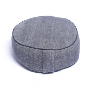 Meditation Cushion Rond Grey