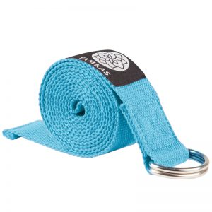 Yamkas yoga strap and belts Blue